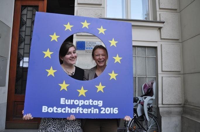 Europatag Botschafterin2016 ©EDI Wien