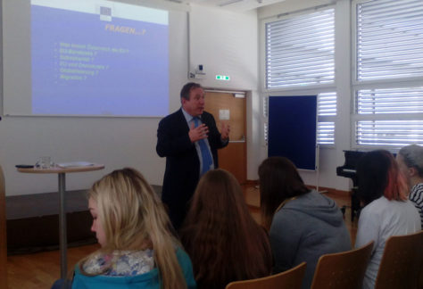 Back to School mit Dr. Wolfgang Burtscher am 15./16.3.2018