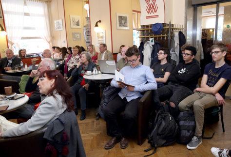 EuropaCafe am 10. April 2018 in Linz