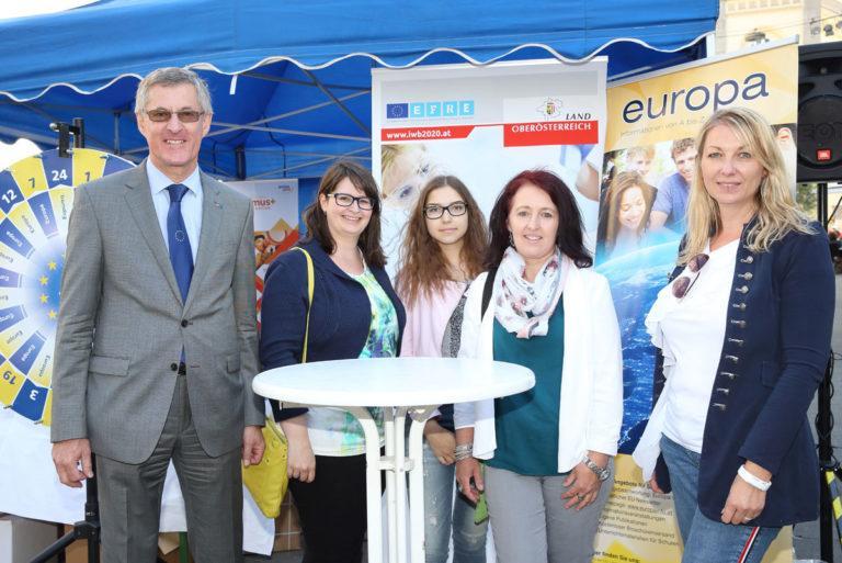 Europatag am 9. Mai 2018 in Linz