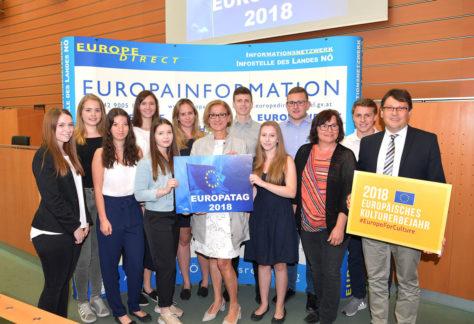 Festveranstaltung zum Europatag