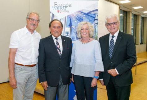 Vortragsabend ? Die EU als Friedens- und Wohlstandsprojekt? am 15.6.2018