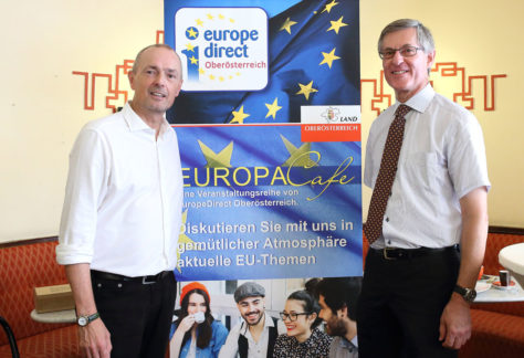 EuropaCafe am 20. Juni 2018 in Linz
