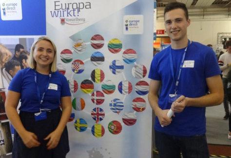 Europainformationsstand bei der Dornbirner Herbstmesse