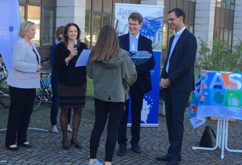 Vorarlberg feiert Erasmus+