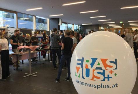 Erasmus+-Fest an der FH Dornbirn