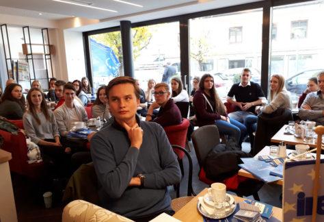 Europacafe Westbalkan Schausberger Neuamrkt 5.11.18