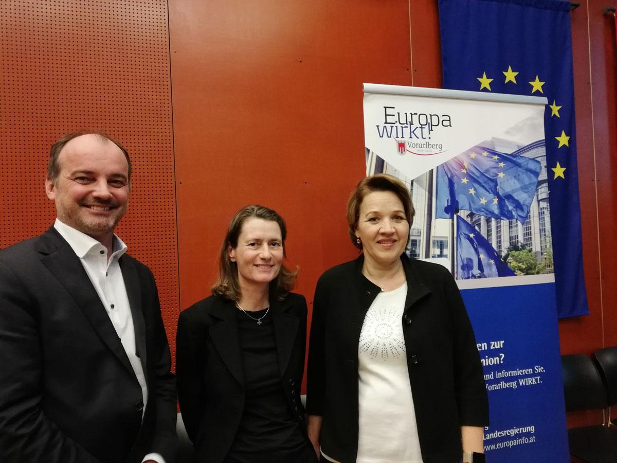 Vernetzungstreffen der Vorarlberger Europa-Gemeinderäte