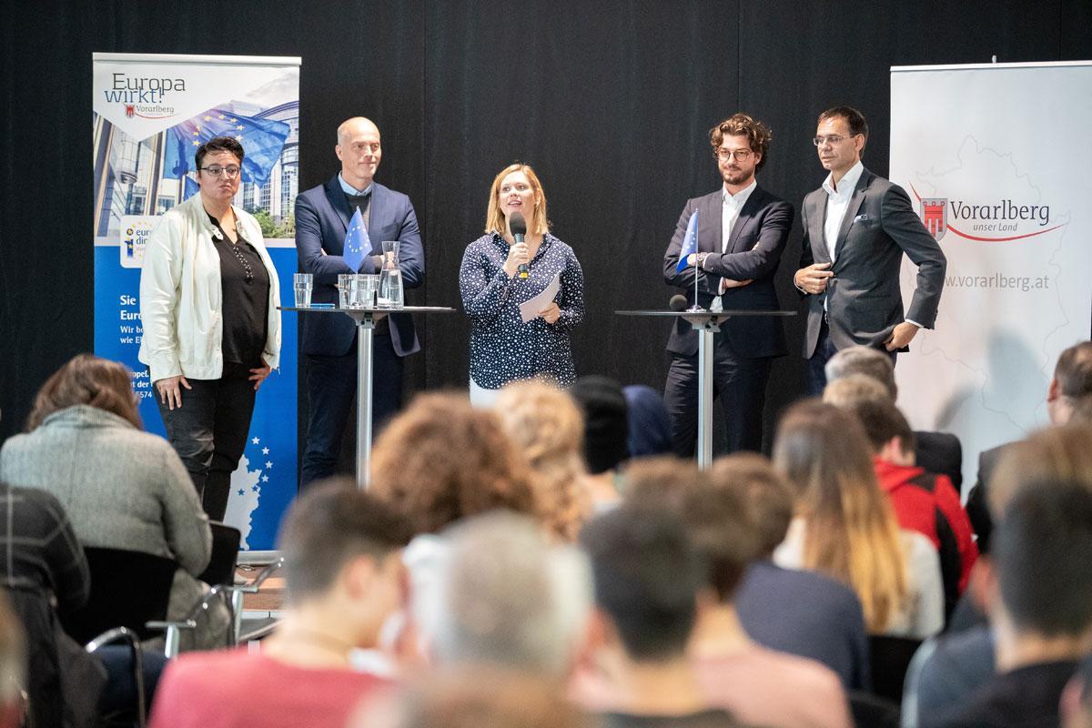 """Treffpunkt Europa"""" in Bregenz am 9 5 2019 - Europe Direct"""