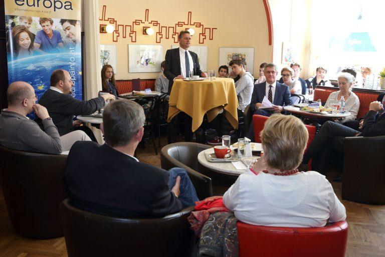 EuropaCafe am 19. April 2016 in Linz