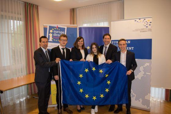 Parlamentssimulation zum Europatag in Pinkafeld