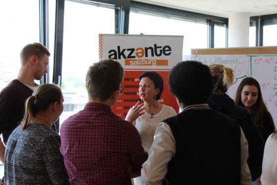 EU-Diskussion mit landesweiten Schulsprecherinnen und Schulsprechern in Salzburg