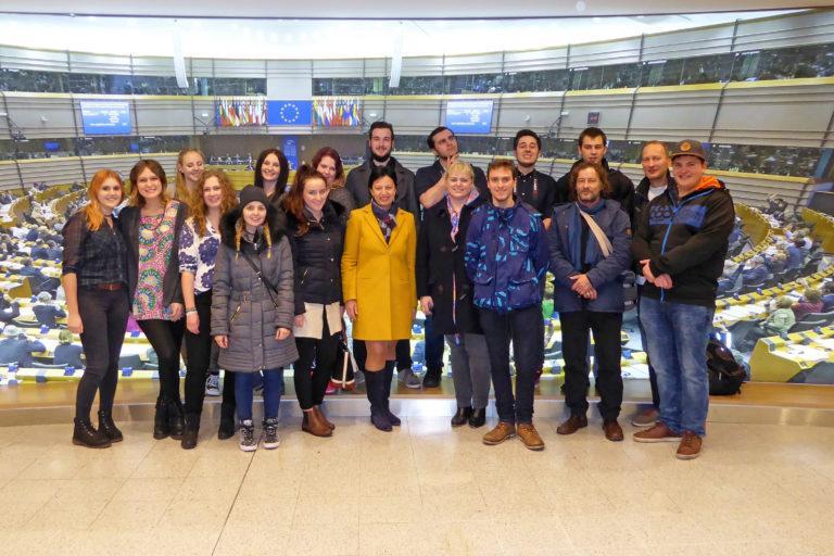 EU-Geocaching-Wettbewerb Gewinnerreise Brüssel