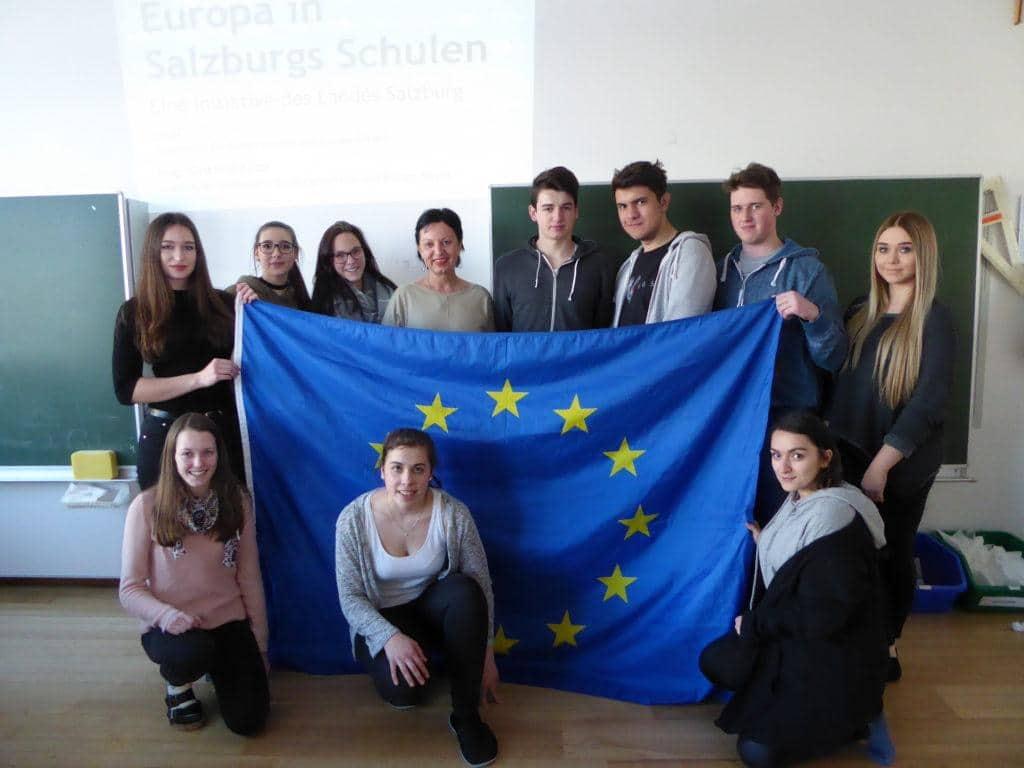 EU-Expertenvortrag 3. HAK Hallein 10.1.17