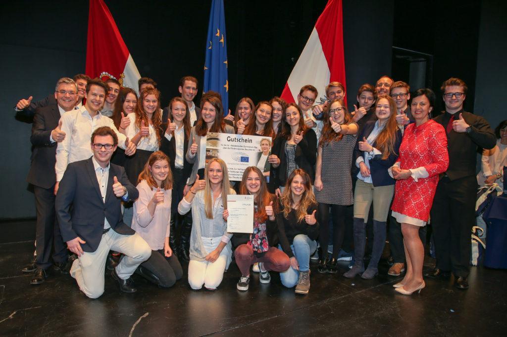 EU your vision - Siegerklasse 7e Akademisches Gymnasium Sbg
