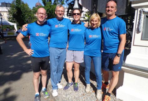EU-Infostand beim Wachau-Marathon am 13.9.2015