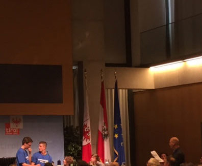 Europaquiz 2016 - Landesfinale Tirol