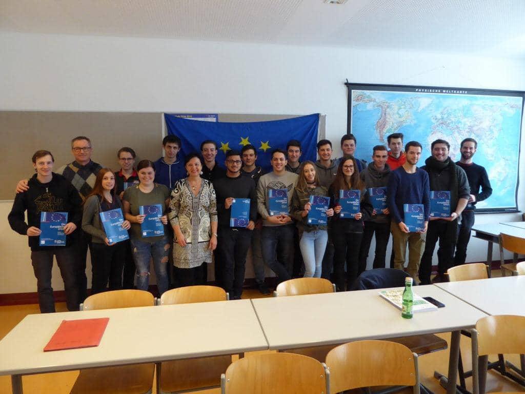 EU-Expertenvortrag HAK Tamsweg 5. Klassen 7.2.18