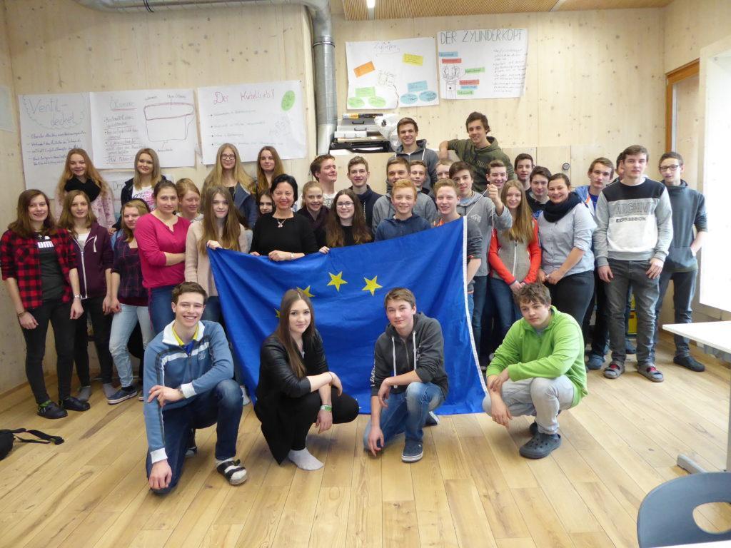 EU-Expertenvortrag 2. Klassen der LW FS Winklhof/6.3.18