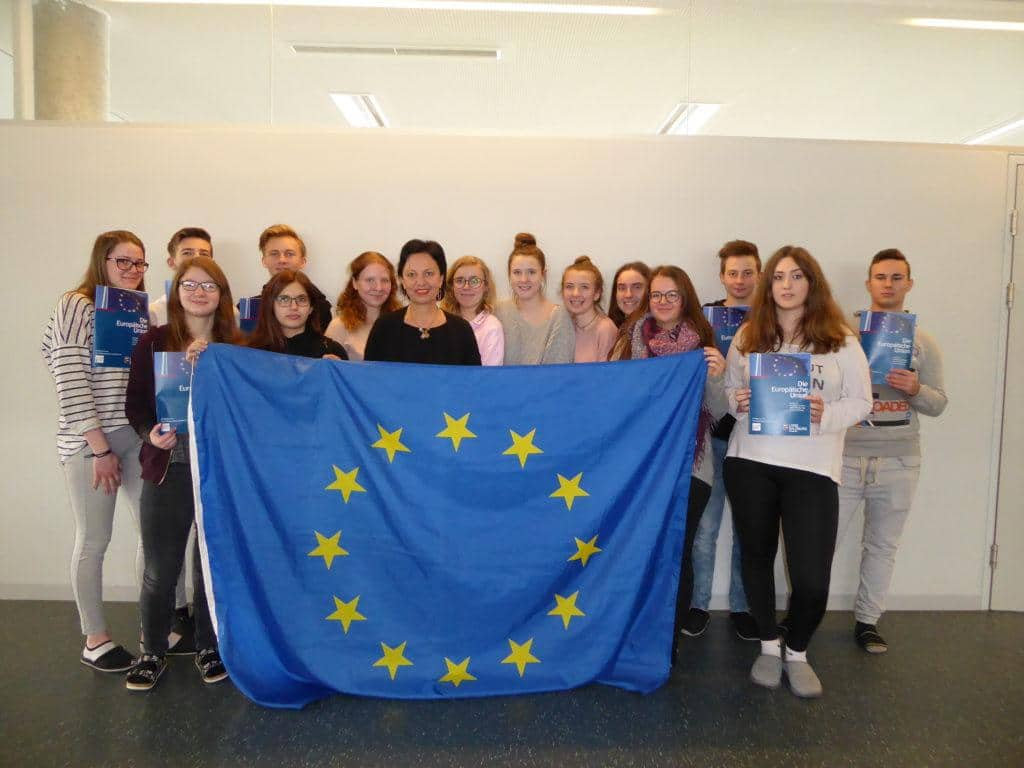 EU-Expertenvortrag 2BK der HAK Oberndorf 20.3.18