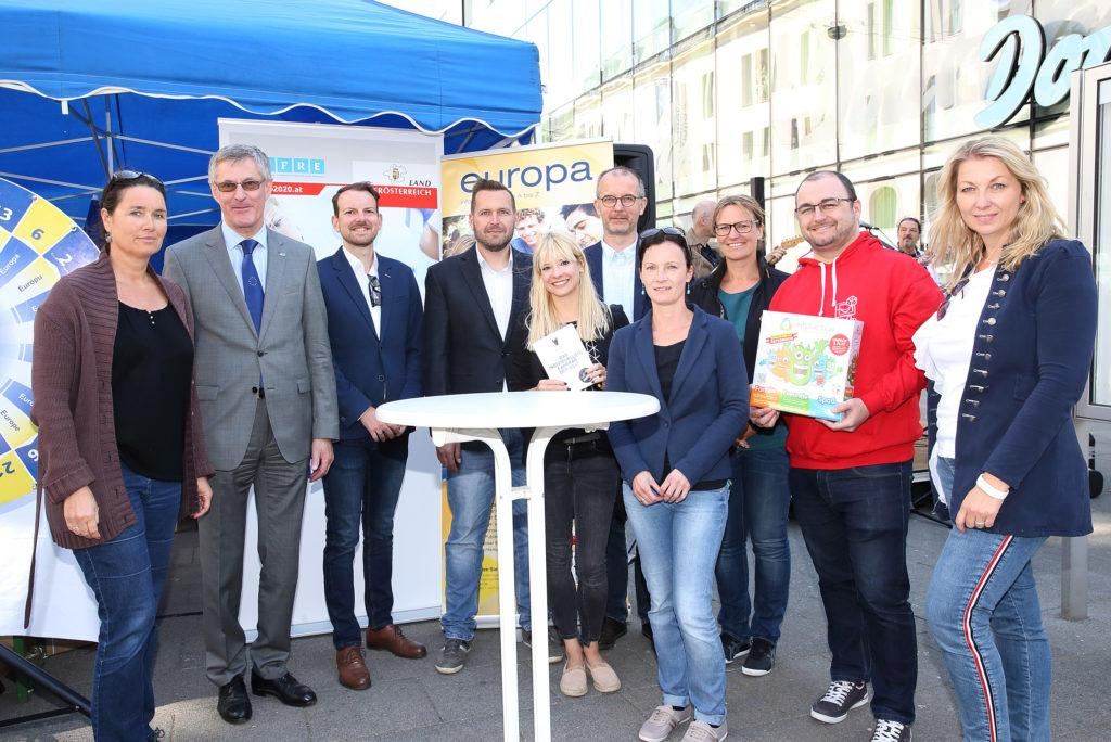 Europatag am 9. Mai 2018 in Linz