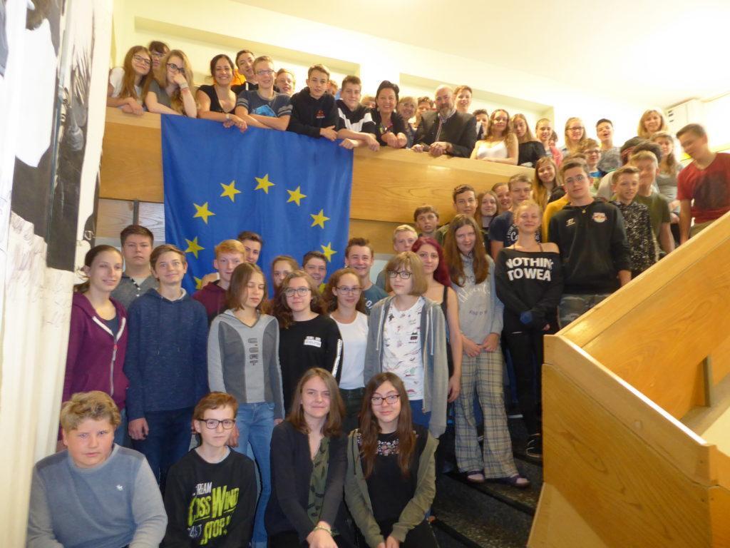 Europatage NMS Hof, 4. Klassen 24.5.18