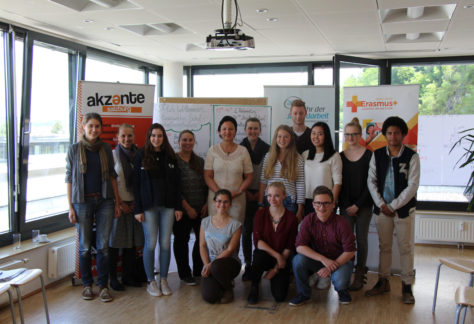 EU-Diskussion mit SchulsprecherInnen in Salzburg