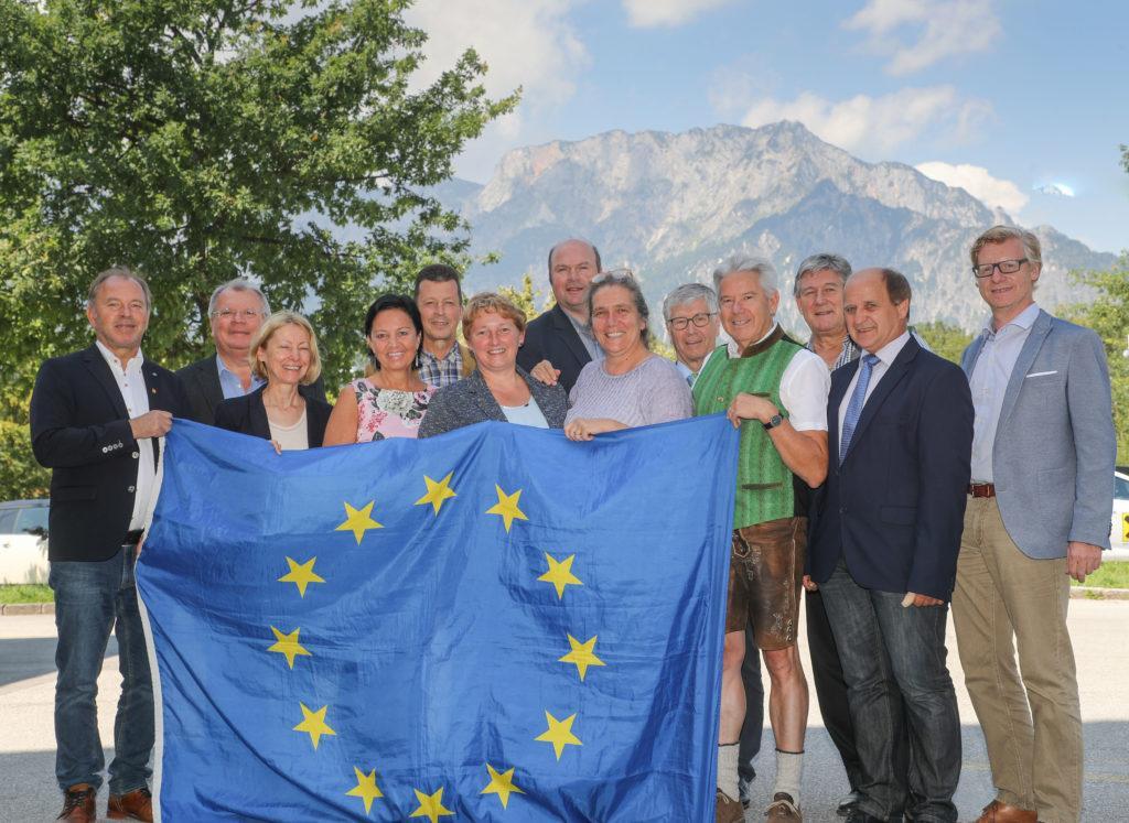 Europa 2020 Steuerungsgruppe der Sbg Bgm 130718