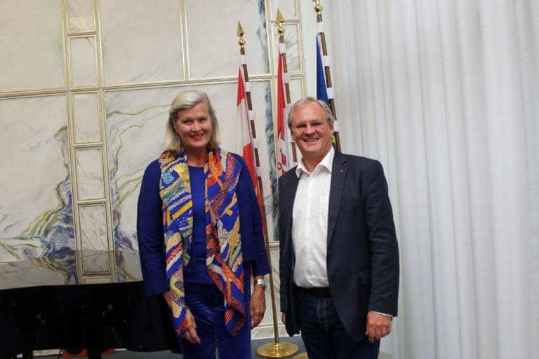 Vortrag von Botschafterin Ursula Plassnik zur österreichischen Ratspräsidentschaft