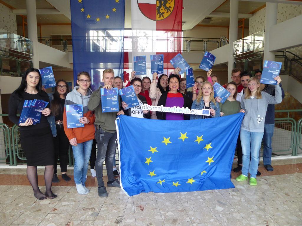 EU-Diskussion LBS St. Johann i.P.