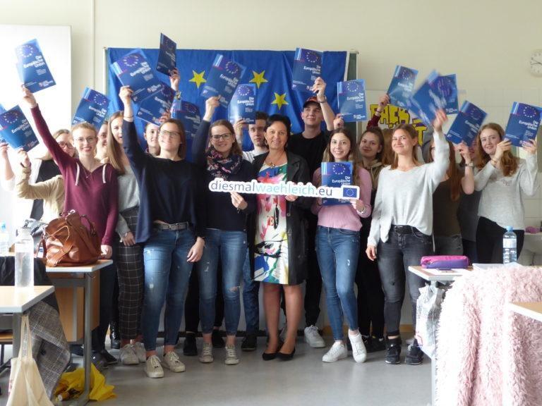 EU-Expertenvortrag Caritasschule 8.4.19