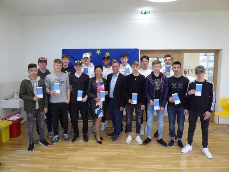 EU-Vorträge im Christian Doppler Gymnasium Salzburg 3.5.19