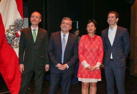 """""""EU your vision"""" Wettbewerb mit BM Kurz in Salzburg"""