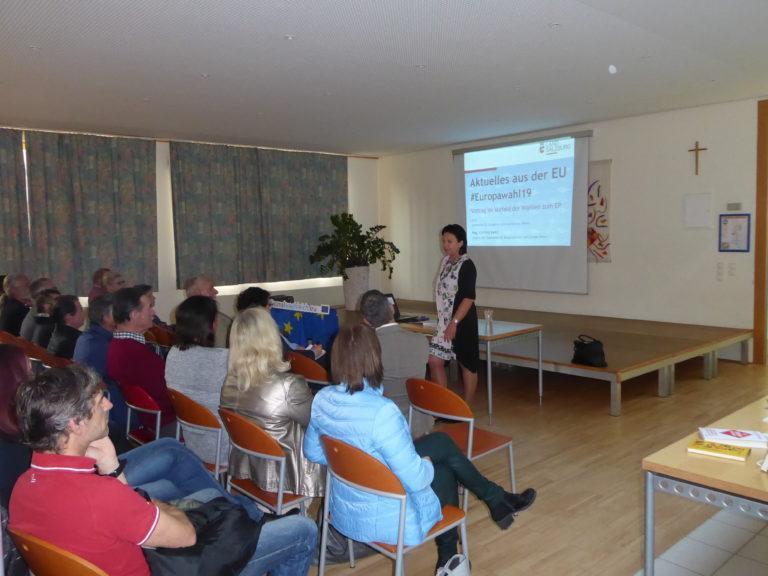 Europawahlveranstaltung Bibliothek Köstendorf/13.5.19