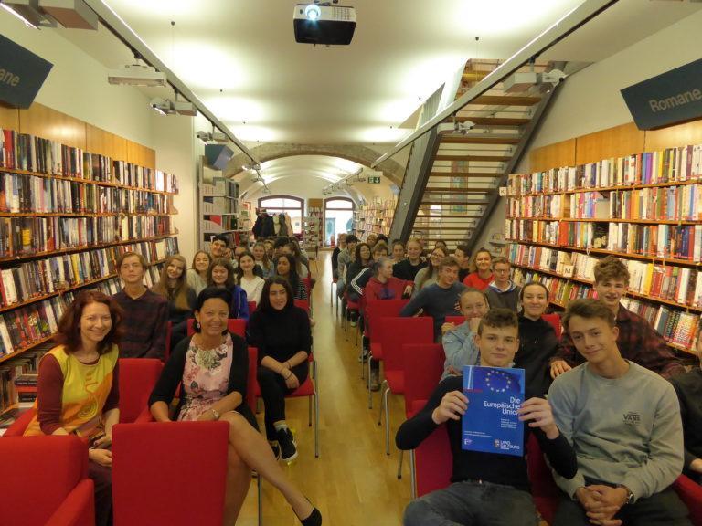 #Europawahl2019/BG Hallein/Stadtbibliothek Hallein/21.5.19