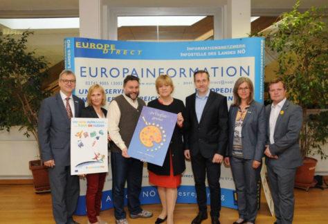 Festveranstaltung zum Europatag am 8.5.2017