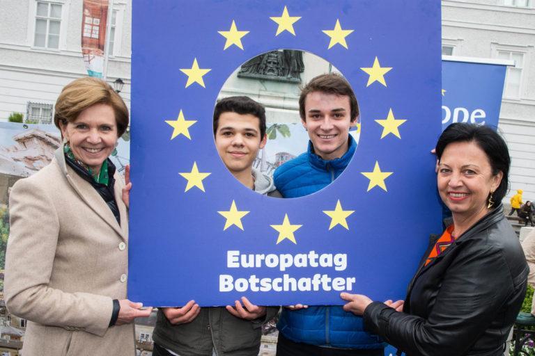 Europatag 2017 Salzburg Tracking Europe 1. Platz mit GK