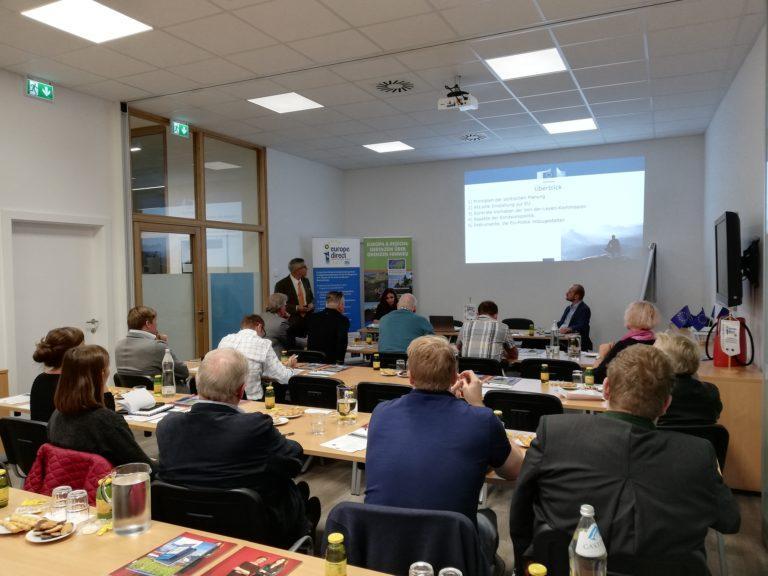 Read more about the article EU-Infos aus erster Hand: Gemeindevertreter-Infoabend im Haus der Region