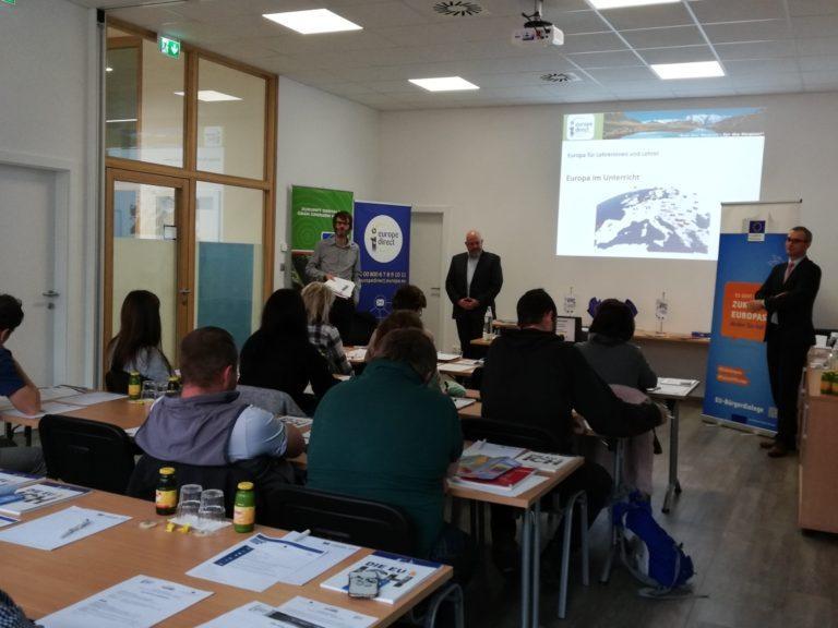 """Europa-Seminar für Pädagogen und Pädagoginnen in Bischofshofen """"Die Zukunft Europas"""""""