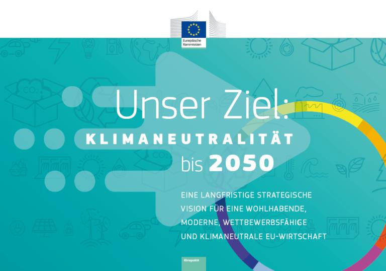 Broschüre Unser Ziel: Klimaneutralität bis 2050