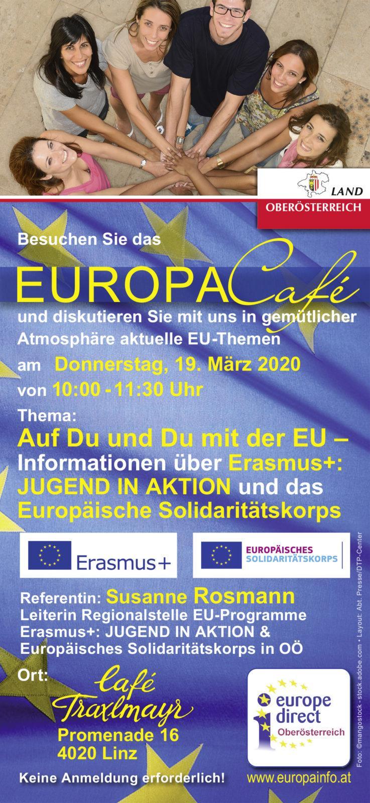 EuropaCafe am 19.3.2020