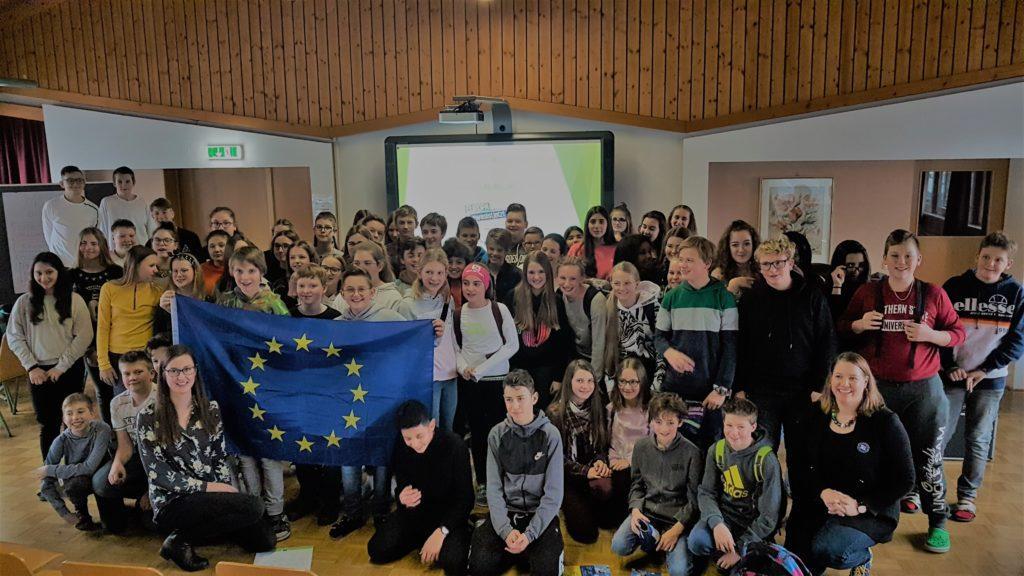 Europatag an der NMS St. Johann im Pongau