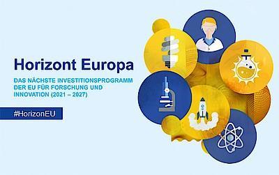 Logo Horizont Europa