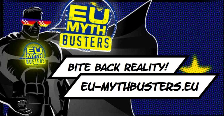 EU-Mythbusters Kreativwettbewerb – Prämierungen
