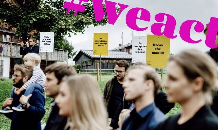 Virtuelle Bühne #weact Outburst of Culture von Dornbirn plus