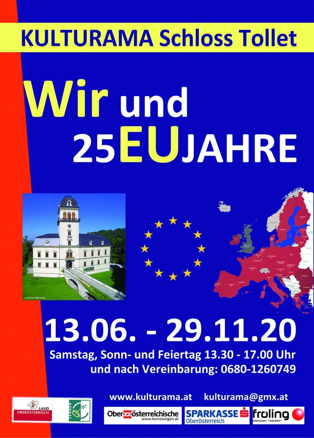 """Einladung """"Wir und 25EUJahre"""""""