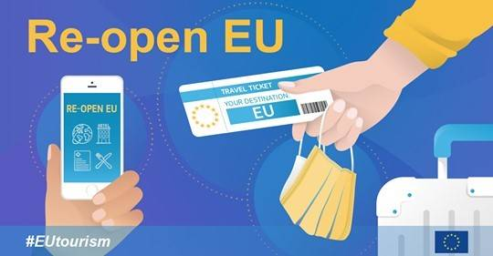 Re-open EU – Plattform über Reisebeschränkungen
