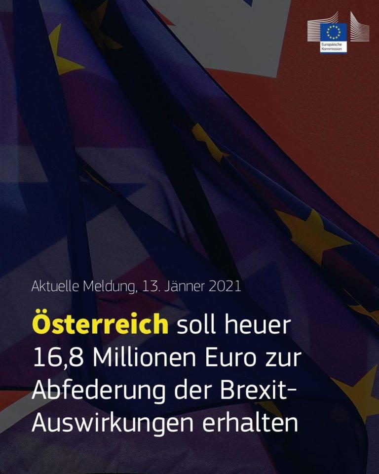 Österreich soll heuer 16,8 Millionen Euro zur Abfederung der Brexit-Auswirkungen erhalten
