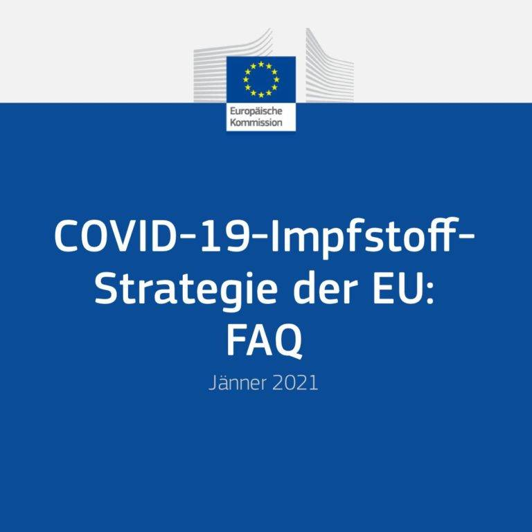 COVID-19-Impfstoff-Strategie der EU: FAQ