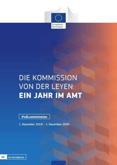 Read more about the article Die Kommission Von der Leyen-Kommission – Ein Jahr im Amt